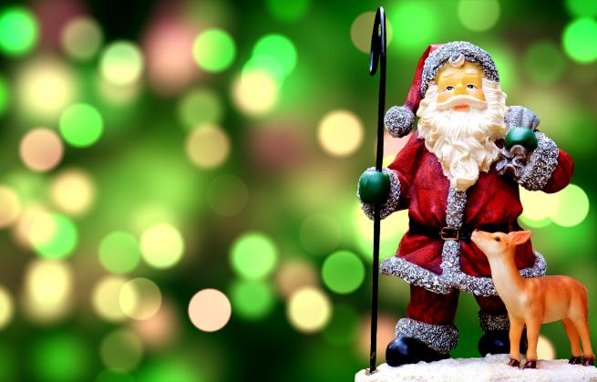 Papá Noel y la Navidad